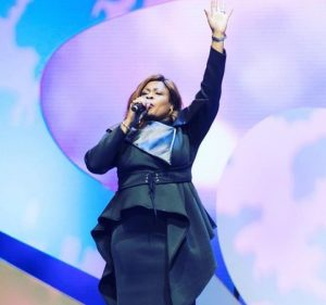 DOWNLOAD MUSIC + LYRICS: Sinach – There's an Overflow