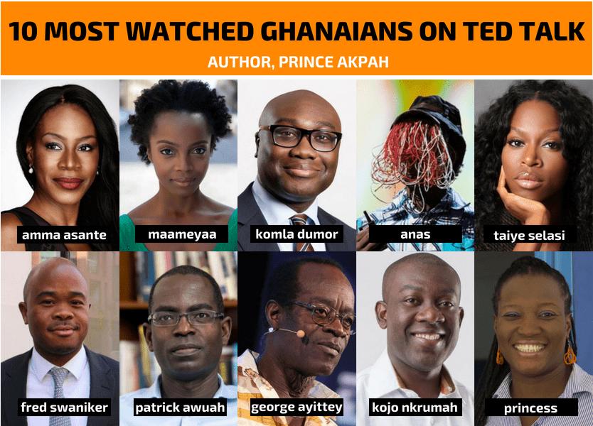 Top 10 Ghanaian Tedx Videos